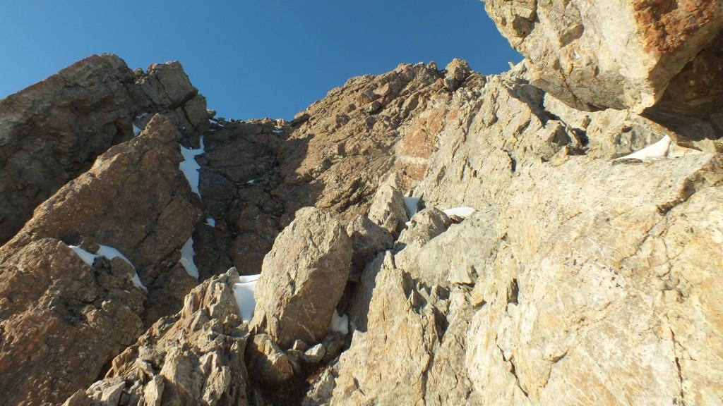 Fun climbing on (mostly) good rock