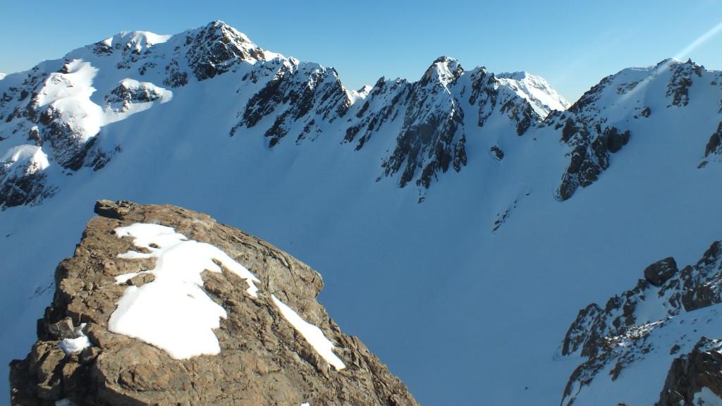The ridge to Blimit