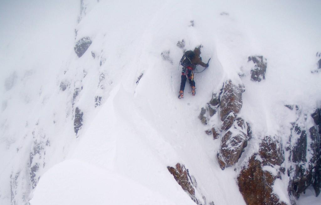 Tackling a steep step